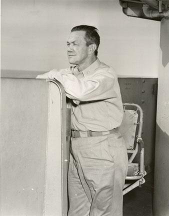 Rear Admiral Gerald F. Bogan